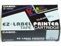 Label printer black on clear tape 18mm